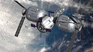 Commercial space station