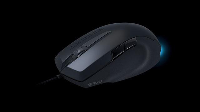 PHOTO: ROCCAT Savu mouse.