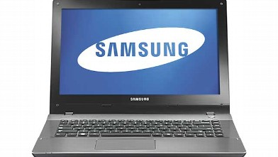 PHOTO: The Samsung QX310 laptop has a 14-inch screen and up to 1 terabyte of hard drive space.