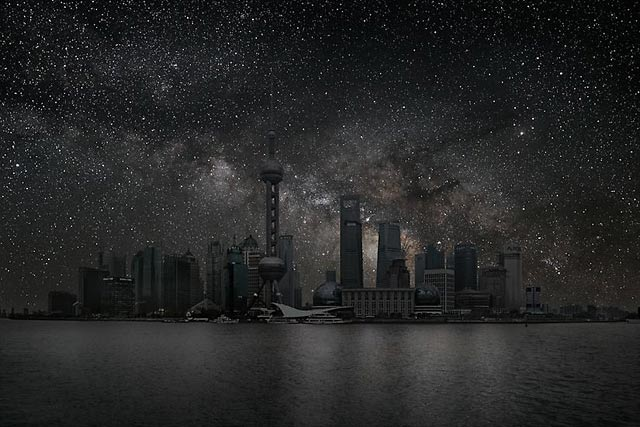 ht Shanghai 20 darkened skies ll 130307 wblog Darkened Cities: The Night Sky You Dont See