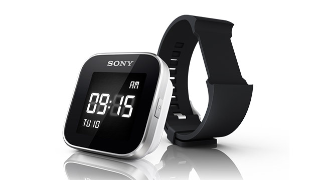 PHOTO: Sony's SmartWatch pairs with your smartphone.