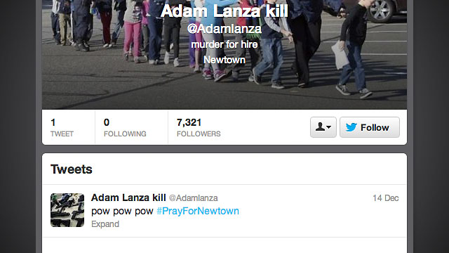 PHOTO: Fake Twitter, YouTube and Facebook profiles have popped up on social media site.