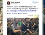 PHOTO: Adria Richards tweet