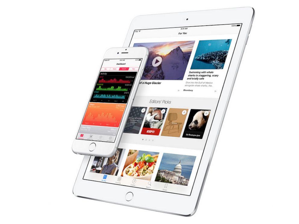 PHOTO: Apples iOS 9.3.