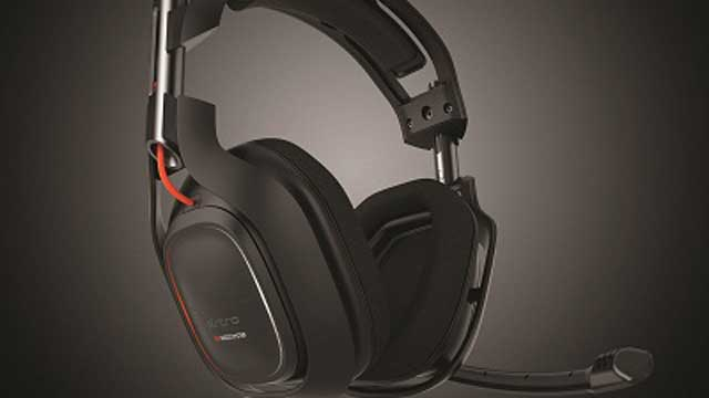 PHOTO: Astro A50 wireless gaming headset.