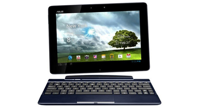 PHOTO: The Asus Transformer Pad TF300 is an Android 4.0 tablet with an optional keyboard.