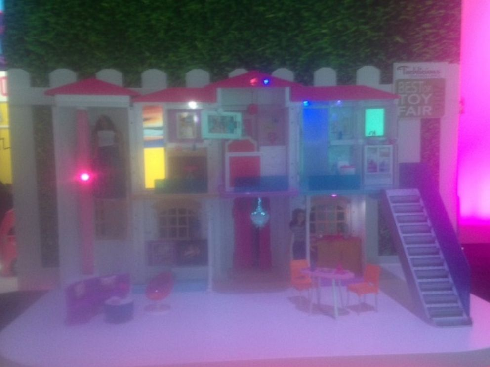 PHOTO: Barbies new Dreamhouse is a connected home that responds to voice commands.
