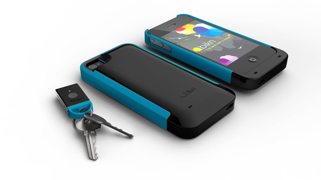PHOTO: The BiKN iPhone case and dongles help you find your lost keys or items.