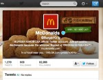 PHOTO: On Feb. 18, 2013 Burger Kings Twitter account was hacked to look like McDonalds.