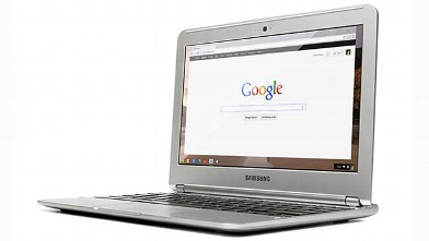 PHOTO: Google's Chromebook made by Samsung starts at $199.