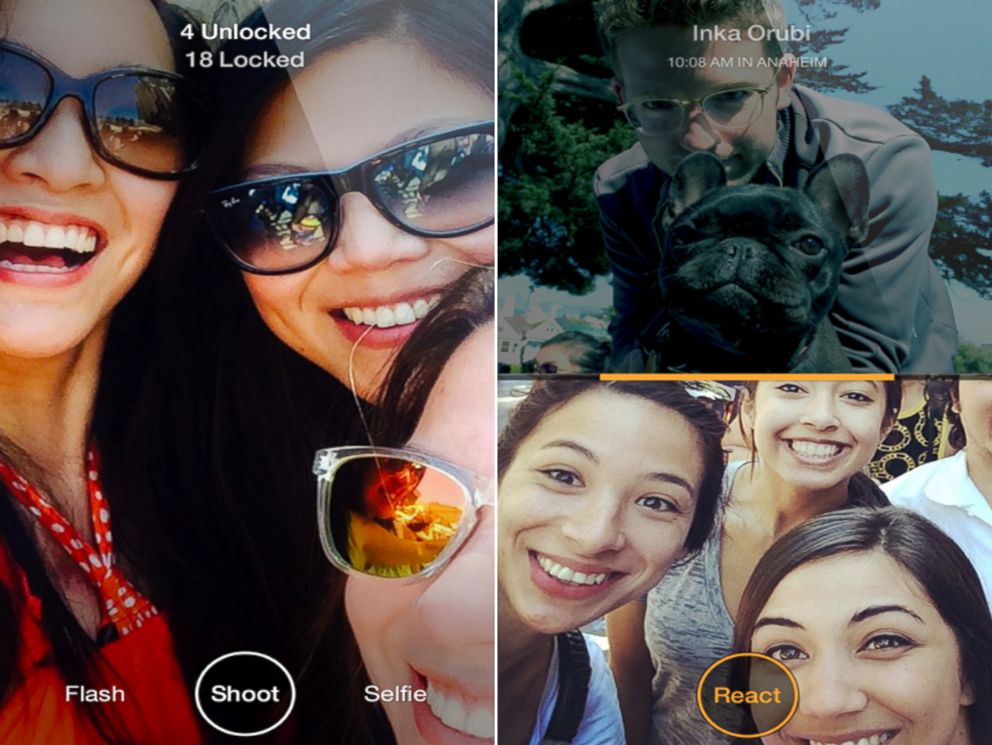 PHOTO: On June 17, 2014, Facebook announced the release a new smartphone application called Slingshot which the company says will allow you to quickly react and respond to images from friends.