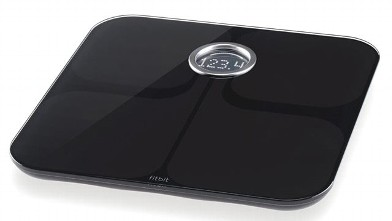 PHOTO: The FitBit Aria wirelessly uploads your weight to your FitBit online account.