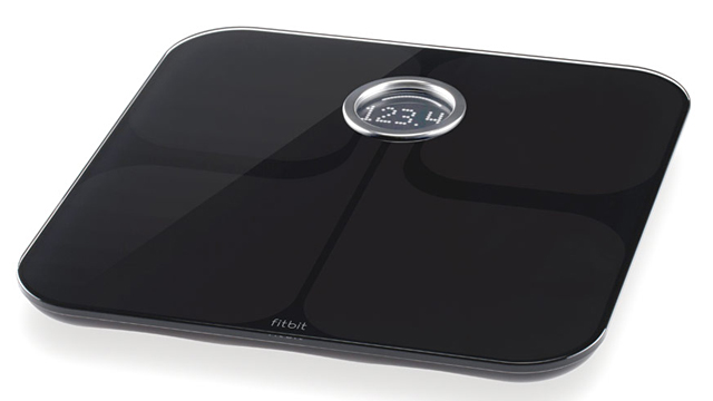 PHOTO: FitBit Aria scale