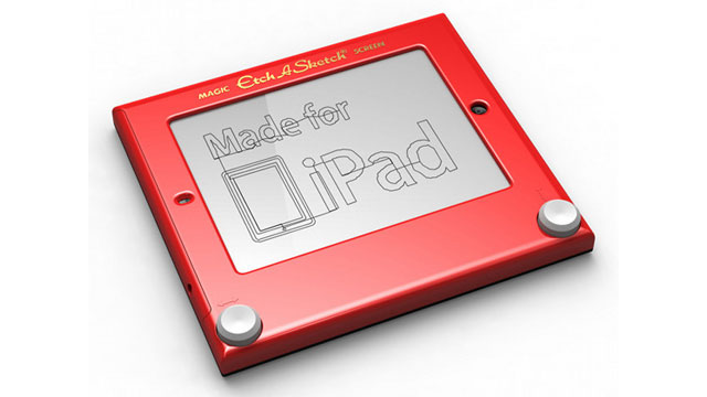 PHOTO: Etcher turns your iPad into an Etch A Sketch.