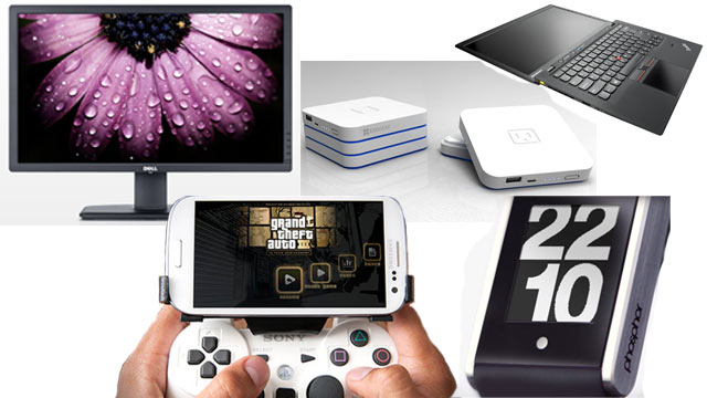 PHOTO: The Gadget Guide from ABC features games, laptops, watches, batteries and monitors.