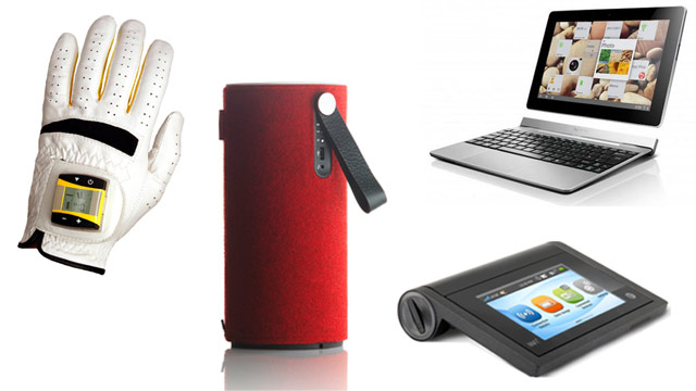 PHOTO: Some featured gadgets of the week are SensoGlove, Libratone Zipp, Lenovo Ideatab and Mifi Libberate.