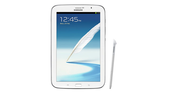 PHOTO: Samsungs Galaxy Note 8.0 has an 8-inch screen and a stylus.