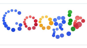 Photo: Google Logo Mystery: What Do Bouncing Balls Mean? New Google Doodle Is Colorful Assortment of Bouncing Balls