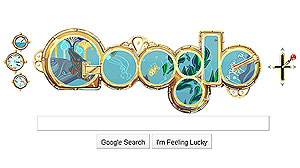 """Google launched a first-of-its-kind interactive Google doodle themed after Jules Verns famous novel """"Twenty Thousand Leagues Under the Sea""""."""