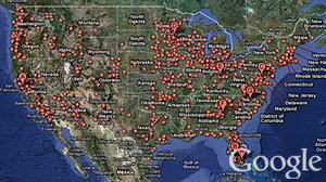 Photo: Google Helps Find Foreclosures: Google Maps helps home buyers spot foreclosure sales.