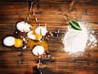PHOTO: Eggs and plant powder