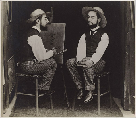 ht henri de toulouse lautrec as artist and model ll 121015 wblog Faking It: Life Before Photoshop