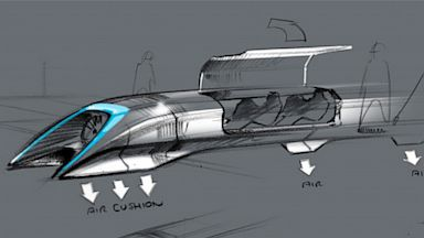 PHOTO: Hyperloop sketch