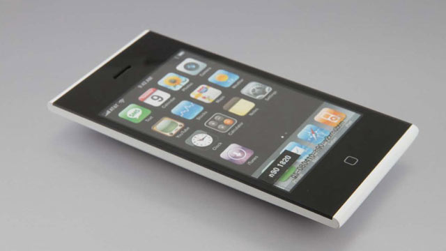 PHOTO: An iPhone prototype revealed in court documents in the Apple and Samsung patent case.