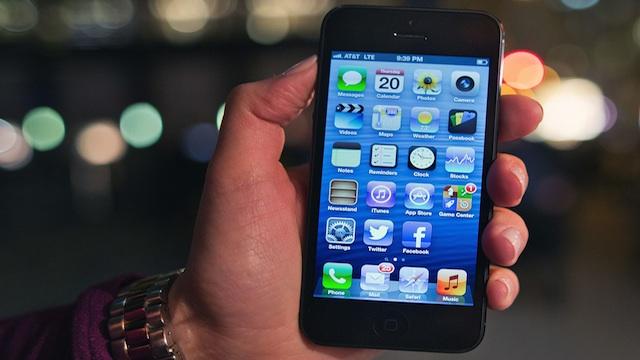 PHOTO:Apples iPhone 5.