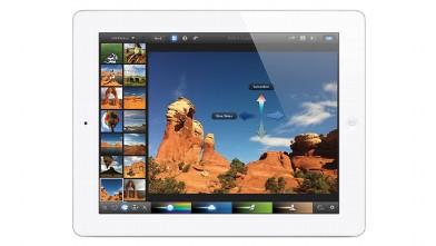 PHOTO: The new iPad.