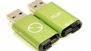 PHOTO The iTwin is an elegant and revolutionary secure USB device for file transfer.