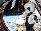PHOTO: Kirobo robot on space station
