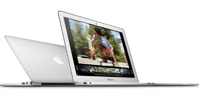 PHOTO: The MacBook Air starts at $999; it is thin, light, and has a long battery life.