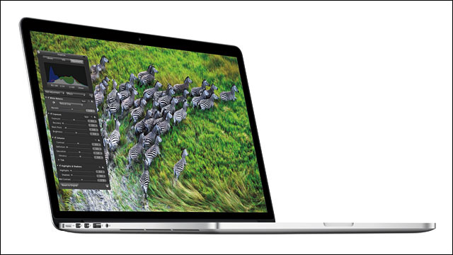 PHOTO: Apple's MacBook Pro with Retina Display was introduce in June 2012, it has the highest resolution display of any laptop on the market.