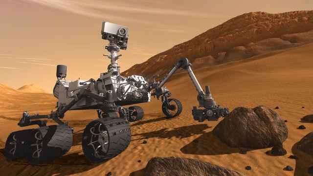 PHOTO: Curiosity rover