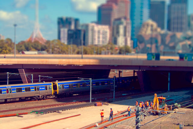 ht melbourne mini5 ll 120211 wblog CityShrinker: Metropolises in Miniature