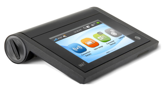 PHOTO: AT&T's MiFi Librerate is the first mobile hotspot to have a touchscreen display.