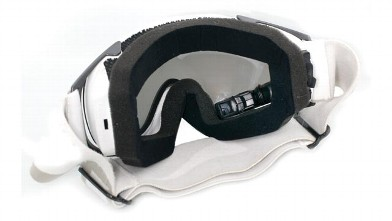 PHOTO: Recon Instruments' MOD Live ski goggles have a tiny display built into it so you can see your speed, the temperature, etc.