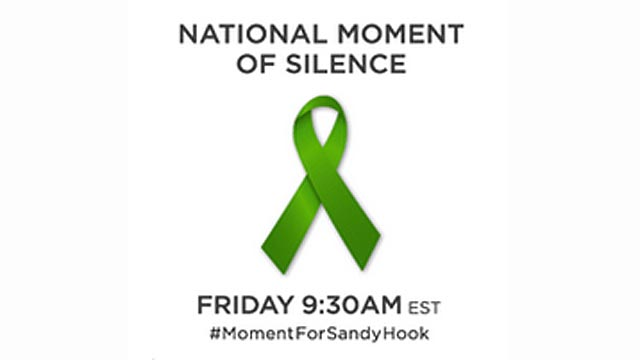 PHOTO: At 9:30 a.m. ET on Dec. 21, 2012 many websites observed a moment of silence for the Newtown tragedy.