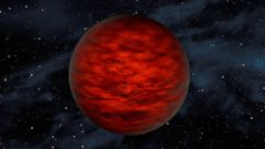 "PHOTO: In this illustration the object, called WISEA J114724.10-204021.3, is thought to be an exceptionally low-mass ""brown dwarf,"" which is a star that lacked enough mass to burn nuclear fuel and glow like a star."