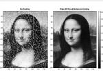 PHOTO: Mona Lisa missing pixels cleaned up