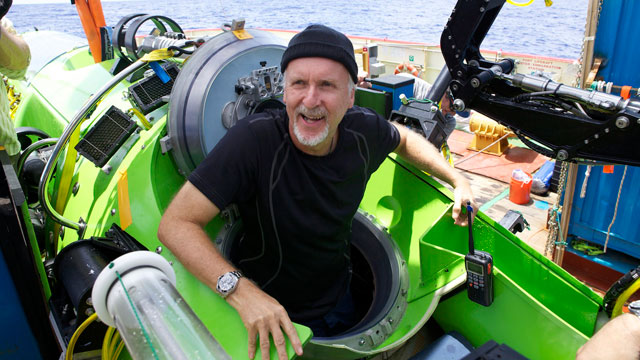 PHOTO: The DEEPSEA CHALLENGER submersible is the centerpiece of DEEPSEA CHALLENGE, a joint scientific project by explorer and filmmaker James Cameron, the National Geographic Society and Rolex to conduct deep-ocean research.
