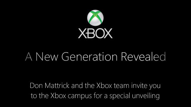 PHOTO: New Xbox invitation