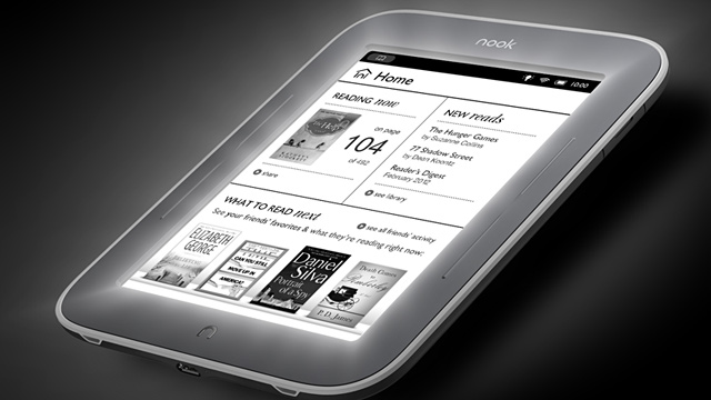 PHOTO: Nook Simple Touch