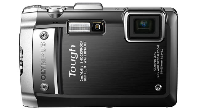 PHOTO: The Olympus EG-810 is a 14MP compact digital camera with a 5x wide-angle 28-140mm lens.