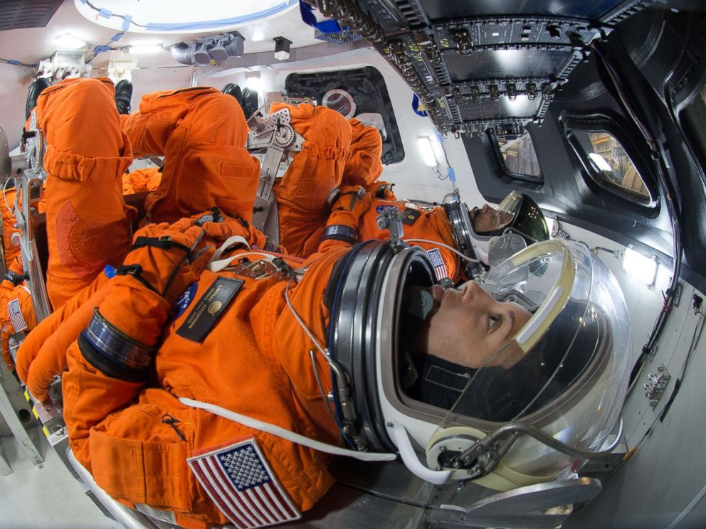 Inside The Orion Space Capsule That Could One Day Take