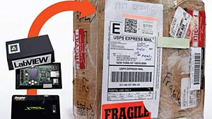 PHOTO: Shipping Packages: Which Company Is Most Careful? Popular Mechanics Creates Experiment to Test UPS, FedEx and U.S. Postal Service