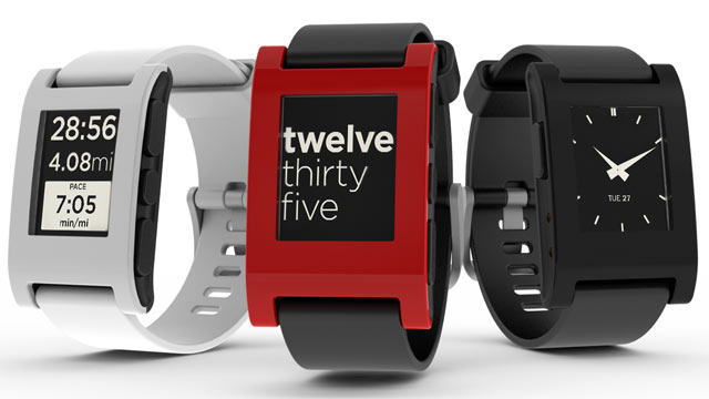 PHOTO: The Pebble is the first smartwatch to work with the iPhone.