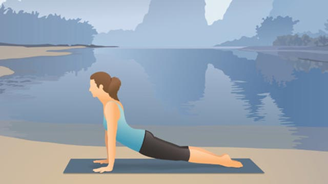 PHOTO: Pocket Yoga for the iPad includes voice and visual yoga instruction.