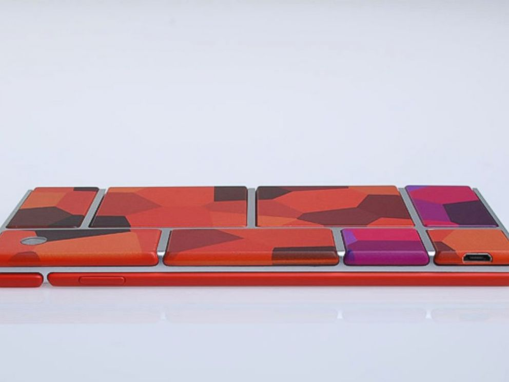 PHOTO: Google and Motorola have launched Project Ara to develop a modular smartphone.